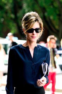 Well put together woman during MIlan Fashion Week