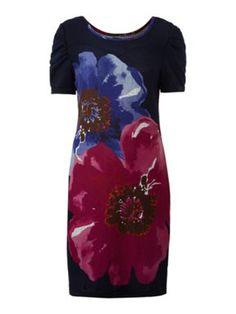 Sodamix Poppy floral dress Navy - House of Fraser