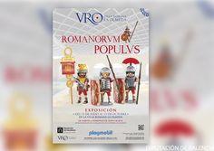 2.300 clicks de Playmobil representan un imperio romano en La Olmeda