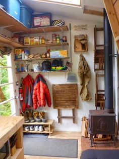 Man Living in 8x12 Tiny House Built for Less Than $500