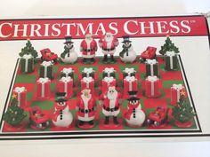 Big League Promotions Christmas Chess Set Santa Presents Xmas Gift Tree Toy Game
