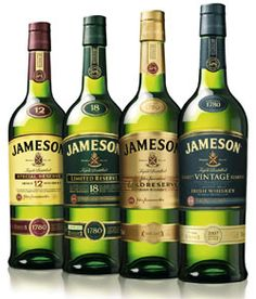 My go to whiskey there's always a bottle of Jameson in my house.  The 12 Year is also very delicious