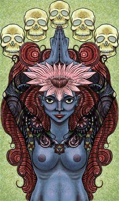 kali tattoo | Goddess+kali+tattoos