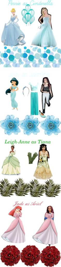 """""""Girls from Little Mix as princesses"""" by polvore-clii ❤ liked on Polyvore"""