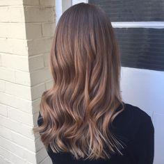 Empress Hair Brisbane - Monique - Balayage Curls Brunette Medium