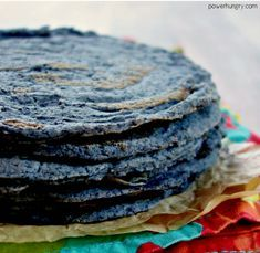 Make your own black bean tortillas, with nothing more than dried black beans (plus water & salt). they are grain-free, oil-free, vegan, and versatile! Mexican Food Recipes, Whole Food Recipes, Vegan Recipes, Cooking Recipes, Tortilla Recipes, Tortilla Chips, Cooking Tips, Black Bean Recipes, Snacks