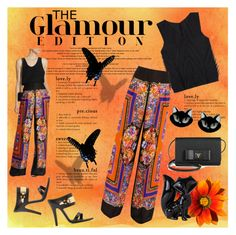 """The Glamour Edition - Alberta Ferretti"" by affton ❤ liked on Polyvore featuring Prada, Pleats Please by Issey Miyake, Dot & Bo, Alberta Ferretti, Versus and Erstwilder"