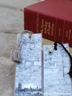 A Gift a Day: Day Nine: Medieval and London Bookmarks - The Prudent Homemaker Blog
