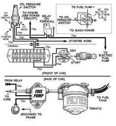 gm 3 wire alternator idiot light hook up hot rod forum rh pinterest com