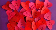 Valentine's Phonics Hide and Seek Game