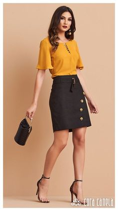 LOOKBOOK 2 – Cora Canela Girls Fashion Clothes, Fashion Outfits, Womens Fashion, Casual Dresses, Casual Outfits, Country Style Outfits, Fashion Jobs, Office Outfits, Mode Style