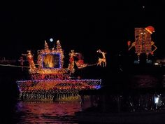 Ciao Newport Beach Boat Parade Christmas Light Displays Lights