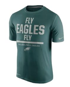 Men s Nike Midnight Green Philadelphia Eagles Local Legend Verbiage  Performance T-Shirt cdb8d0cfd