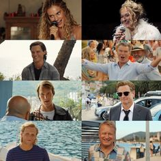 You are watching the movie Mamma Mia! In young Donna Sheridan meets the men who each could be Mamma Mia, Logan Lerman, Shia Labeouf, Amanda Seyfried, Movies Showing, Movies And Tv Shows, Does Your Mother Know, Jeremy Irvine, Here I Go Again