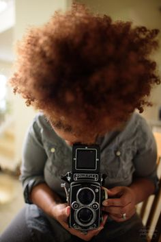 the gift of rolleiflex #bokeh #afro