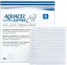 Aquacel hydro fiber dressing.  Add Ag for anti microbial properties.  Intended for wet and weeping wounds.