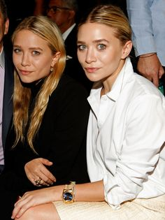 Olsen twins. - Amy Sussman.  Being sued by interns???  If true that there's good cause, that's so sad.  See what money does to some people!