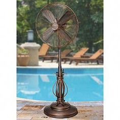 Ultimate Deck And Patio Area Retreat For Easy Living – Outdoor Patio Decor Outdoor Standing Fans, Outdoor Fans, Patio Decorating Ideas On A Budget, Decor Ideas, Patio Ideas, Pergola Ideas, Yard Ideas, Patio Fan, Weathered Paint