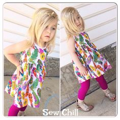 """colors of the wind"" lap dress/tunic by Sew Chill - Spring 2015  www.sewchill.com"