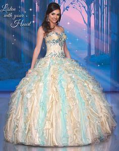Disney Royal Ball Quinceanera Dress Pocahontas Style 41056