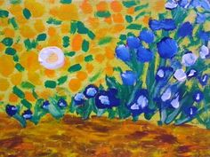 "Inspired by Vincent van Gogh ""Irises"""