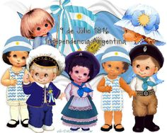 Independencia Argentina Classroom, Children, Boys, Character, Education, Molde, Independence Day Images, Vintage Pictures, School Calendar