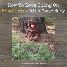 How To Love Going On Road Trips With Your Baby  http://www.organizingmotherhood.com
