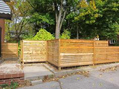 Cut Arched Spaced Picket Fence Mortise And Tenon