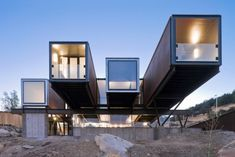 Outside the box: Celebrating the shipping container in architectur - Gizmag's top 10 container homes, most have been highlighted in this collection before  with the exception of The Caterpillar House pictured.