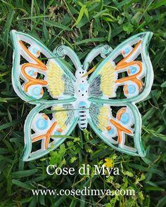 #farfalle #farfalleceramica #madeinitaly #artigianatoitaliano #bomboniere #idearegalo #decorazionipareti #farfallebomboniere #maioliche #butterfly #butterflies #primacomunione #shoppingonline #shopping #matrimonio #bomboniere #happydays #napoli #torredelgreco