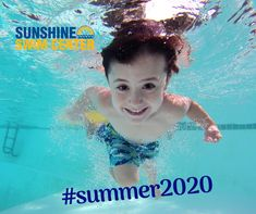 The pool is open for swim lessons. Sunshine Swim and Fitness Center has missed you. They provide a comfortable, fun and positive learning environment, where students gain strength, confidence, and a love for fitness. #kids #swimming #lessons #sacramento