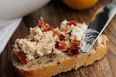 Tartinade de thon, feta et tomate séchée - aime & mange