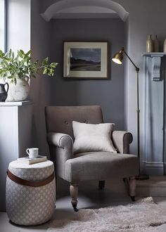Neptune Home, Cosy Corner, Curtains With Blinds, Interior Design Tips, Interior Styling, Interior Inspiration, Design Ideas, Occasional Chairs, Home Living Room