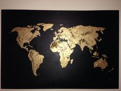 Hey, I found this really awesome Etsy listing at https://www.etsy.com/listing/88509242/original-world-map-painting-acrylic