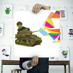 The War of Art Print now featured on Fab.