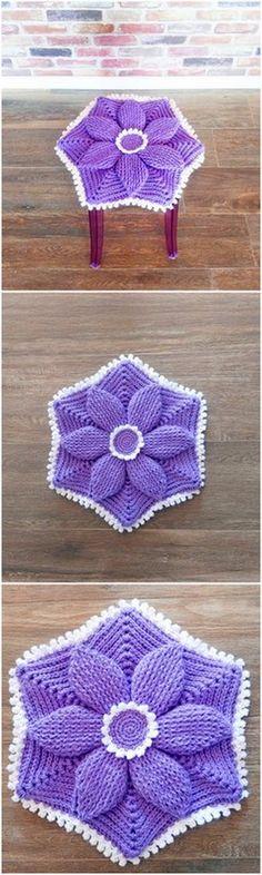 Crochet Patterns, Ideas And Designs For Crochet Lovers - DIY Rustics Crochet Crafts, Crochet Yarn, Hand Crochet, Crochet Projects, Free Crochet, Crochet Potholders, Crochet Ideas, Modern Crochet Patterns, Crochet Designs