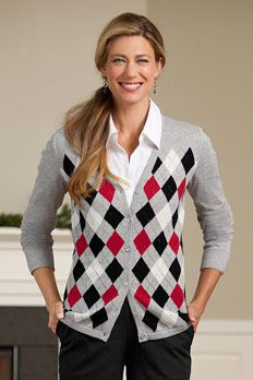 I NEED an argyle sweater.