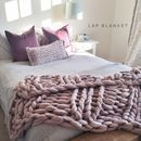 Obsessed with this welcombe chunky hand knitted throw by lauren aston from notonthehighstreet.com #bedroomgoals