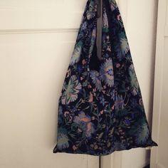 fold up market tote - purl soho pattern