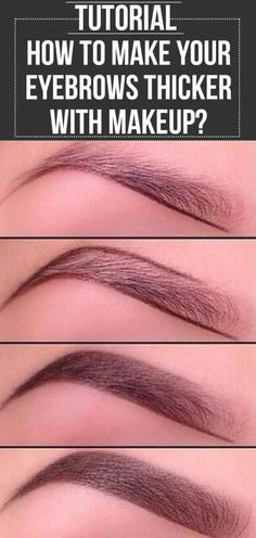 eyebrows trends over the years \ eyebrows years ; eyebrows over the years ; eyebrows through the years ; eyebrows through the years history ; eyebrows 50 years old ; eyebrows trends over the years ; microblading eyebrows after 3 years ; years of eyebrows How To Make Eyebrows, Thick Eyebrows, Eye Make Up, Eye Brows, How To Make Up, Shape Eyebrows, Make Up Tutorial Eyebrows, Natural Eyebrow Tutorial, Eyebrow Tutorial For Beginners
