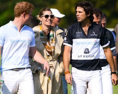 Town & Country Sponsors Prince Harry's Sentebale Polo Cup: Prince Harry, Defina Blaquier, and Nacho Figueras