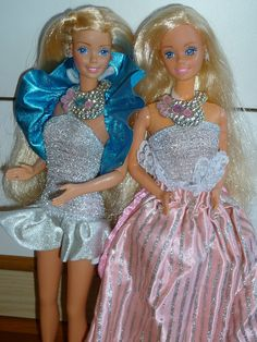 My two Jewel Secrets Barbies - Malaysia & Philippines by Patty Is Totally Addicted To Barbie, via Flickr