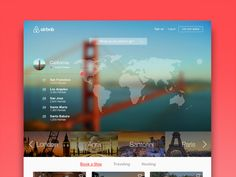 airbnb redesign