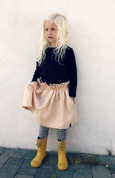 Groovybaby....and mama: Easy Peasy Paperbag Skirt DIY