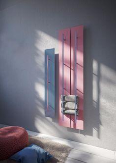 """#rosequartz & #serenity - radiatore """"Teso"""" disegnato da Dante O. Benini e Luca Gonzo per Antrax IT"""