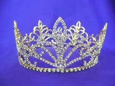 beauty pageant scepters and crowns | Rhinestone Crowns, Princess Crowns, crystal Crowns