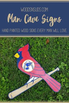Custom Hand Crafted Painted Wood Signs