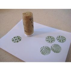 leaf and letter handmade: on the cheap: teeny tiny little stampers. glue rubber stamps to wine cork or maybe bottle top? Cork Crafts, Paper Crafts, Diy Crafts, Cool Erasers, Stamp Carving, Carving Tools, Handmade Stamps, Stamp Printing, Mark Making
