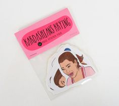 KARDASHIANS KRYING 12 pc sticker set, sticker pack, Kardashians crying, Kim Crying, Khloe, Kourtney, Kendall Jenner, Kylie Jenner