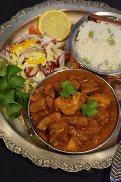 Pork Veenjaali (Indian-style pork curry with a sweet, spicy…